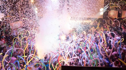 Party at the Coco Bongo in Cancun