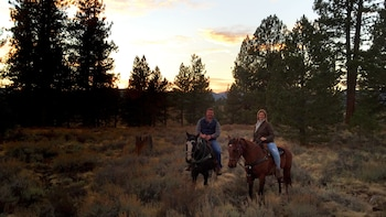 Small-Group Sunset Trail Ride