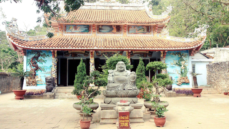 Marble Mountain - Linh Ung Pagoda in Hanoi, Vietnam