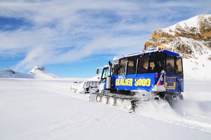 Day Trip to Glacier 3000 & Montreux