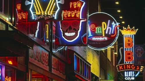 Blues clubs in Memphis