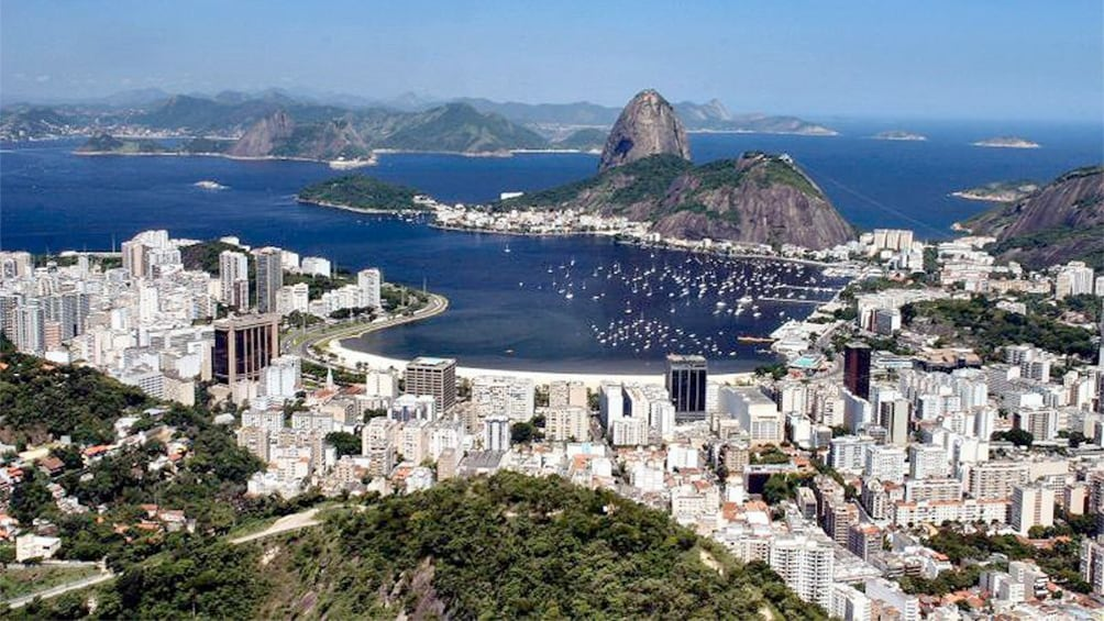 Show item 1 of 10. Rio Full Circle with Guanabara Bay Cruise, Christ the Reedemer & Sugar Loaf tour