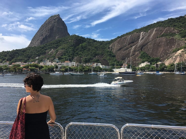 Show item 2 of 10. Full-Day Tour with Guanabara Bay Cruise, Christ the Redeemer & Sugarloaf