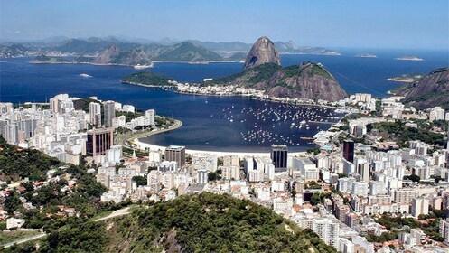 Serene view of Guanabara Bay in Brazil