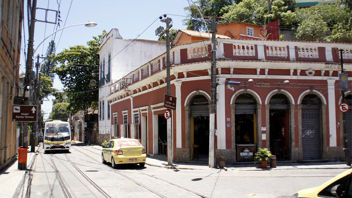 Santa Teresa neighborhood in Rio de Janeiro, Brazil