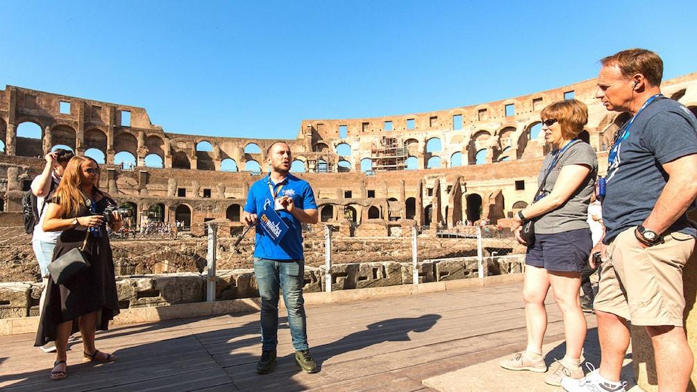 Charger l'élément 1 sur 10. Semi-private Colosseum Tour: Gladiator's Gate & Arena Floor