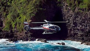 North Shore & Hana Rainforest Helicopter Tour with Taro Plantation Landing