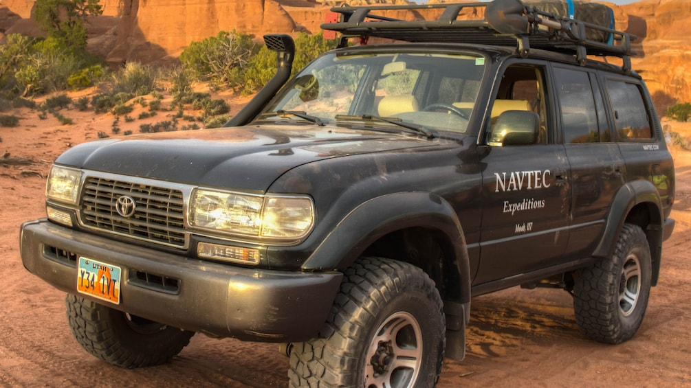 Show item 5 of 5. NAVTEC Expedition 4x4 used for tours in Moab
