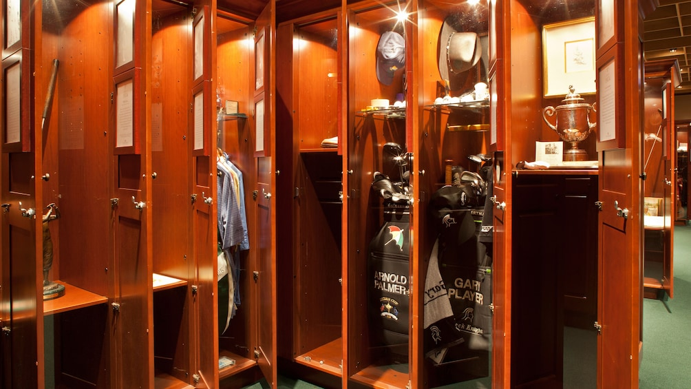 Show item 3 of 5. Exhibit inside the World Golf Hall of Fame and Museum in Paris