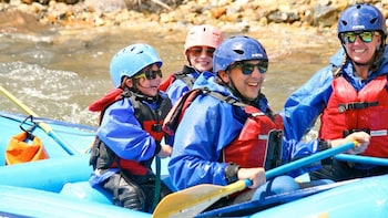 Guided Clear Creek Beginner Whitewater Rafting Tour