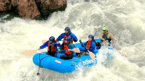 Exciting whitewater rafting trip in Denver