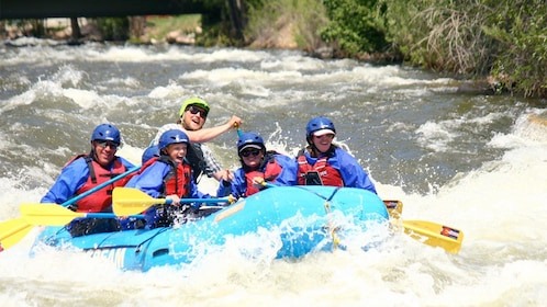 Denver Whitewater rafting