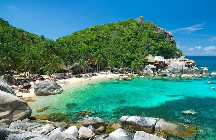 Show item 2 of 13. Snorkel Tour to Koh Nangyuan with Catamaran Cruise from Samui to Koh Tao