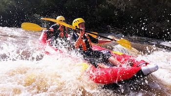 Guided Whitewater Rafting Adventure on the Yarra River