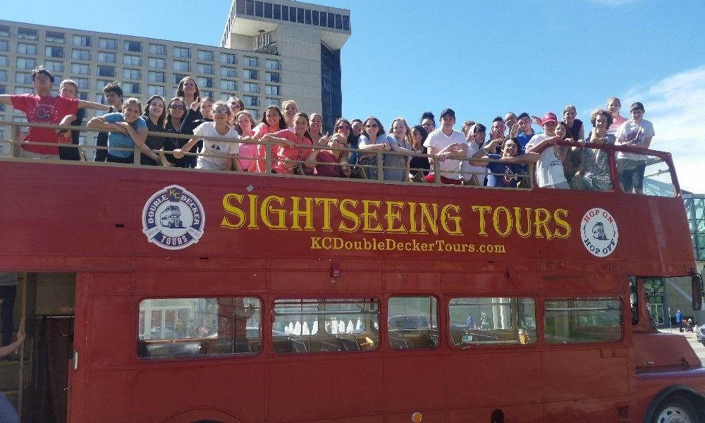Guided City Tour by Double-Decker Bus
