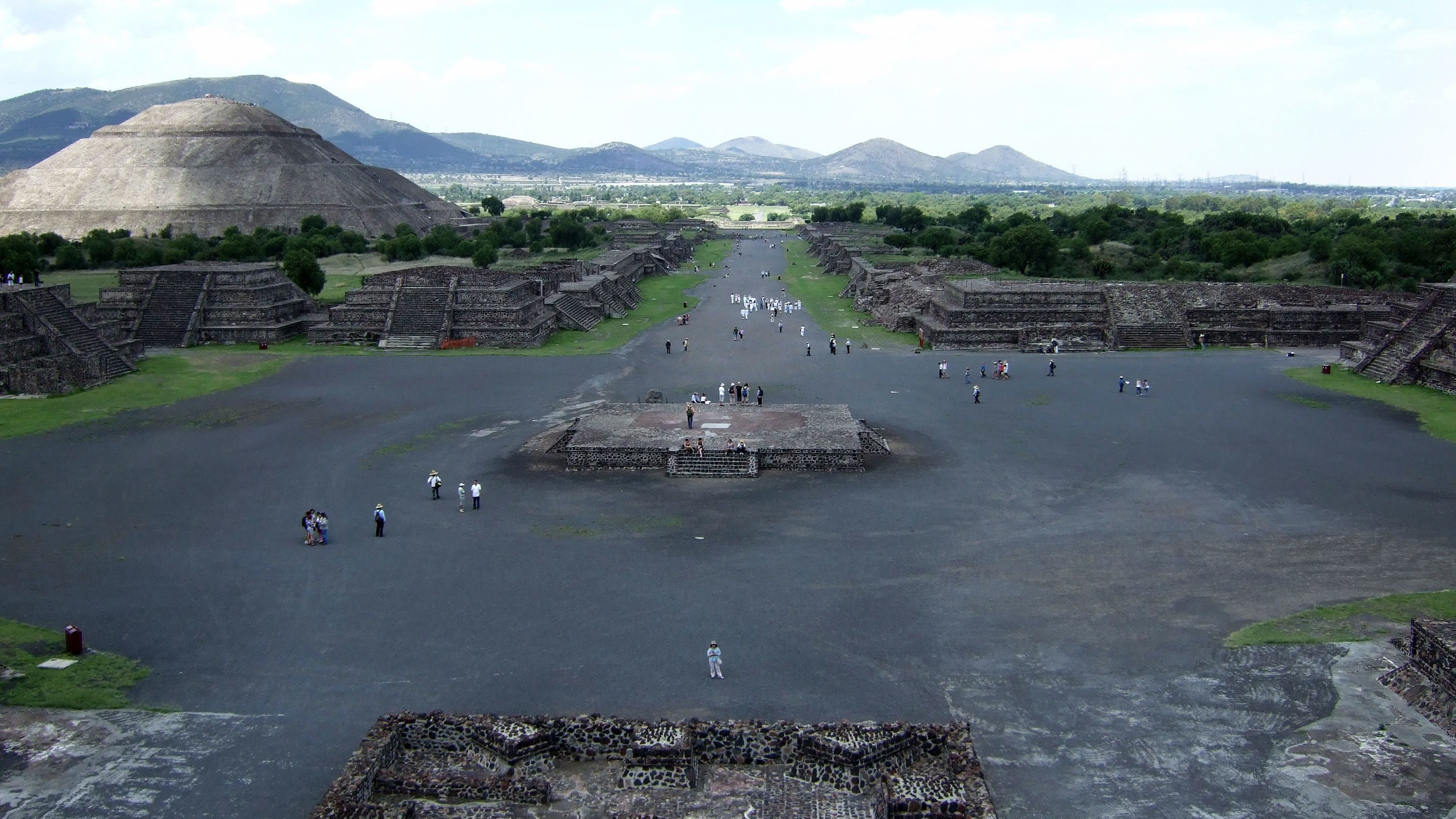 Teotihuacan in Mexico