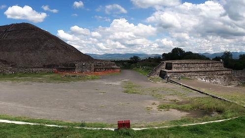 Ruins at Teotihuacan in Mexico