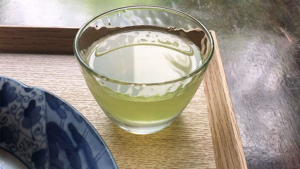 Show item 3 of 5. Green tea in Kyoto