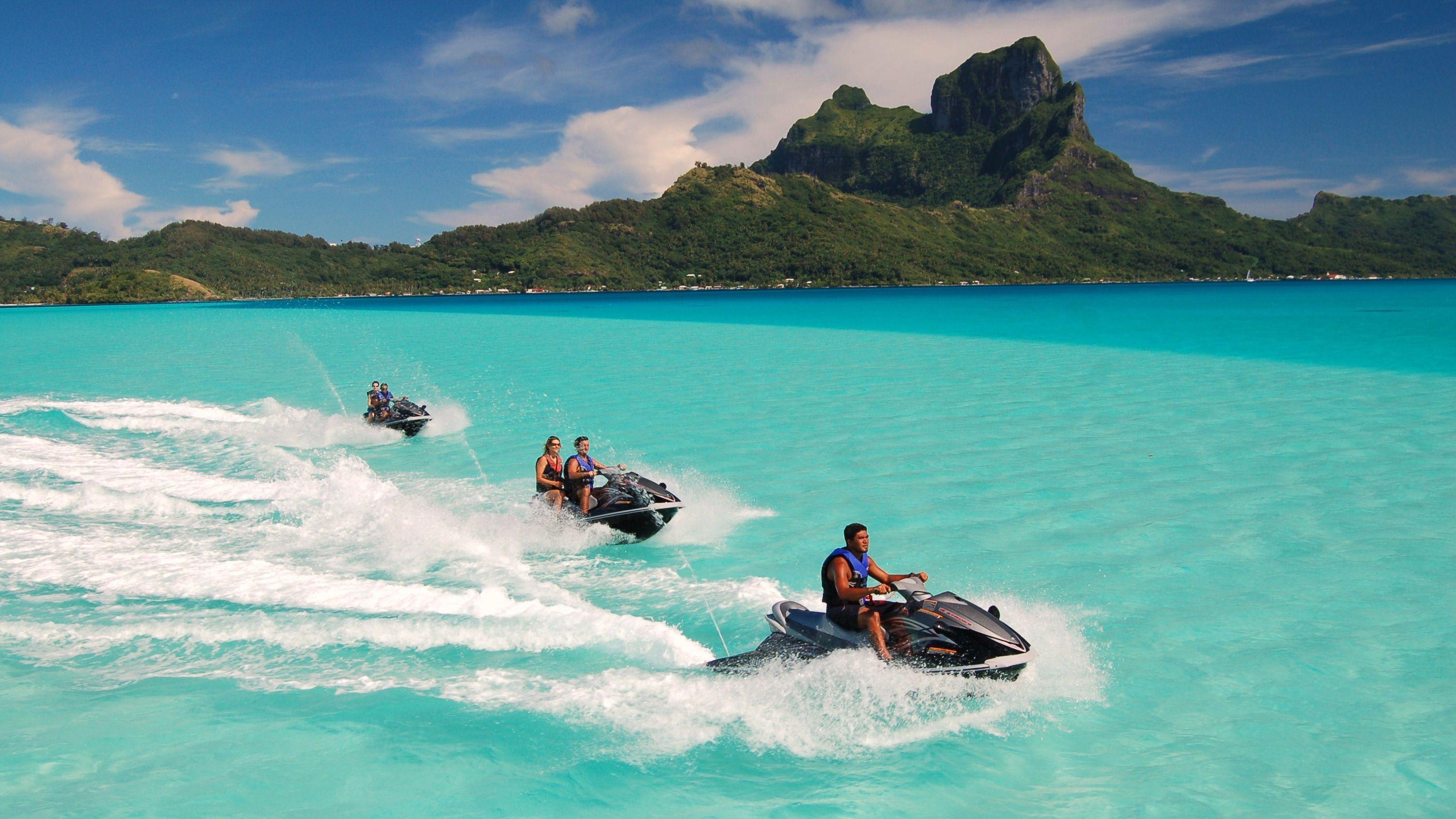 Guided Bora Bora Jet Ski Adventure