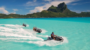 Guided Bora Bora Jet Ski Adventure