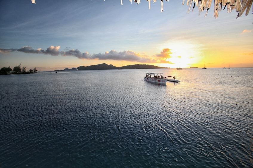 Show item 4 of 7. Bora Bora Sunset Cruise & Dinner at Restaurant St. James