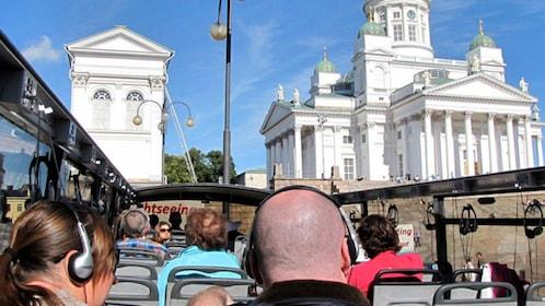 Hop-on hop-off tour in Helsinki