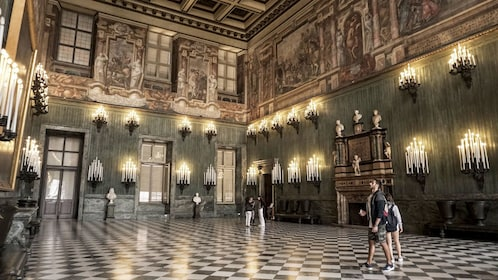 Large room in the Royal Palace in Turin