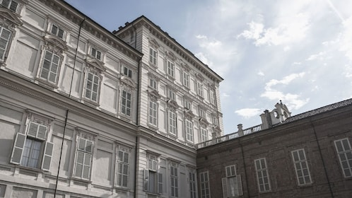 Exterior of Royal Palace in Turin