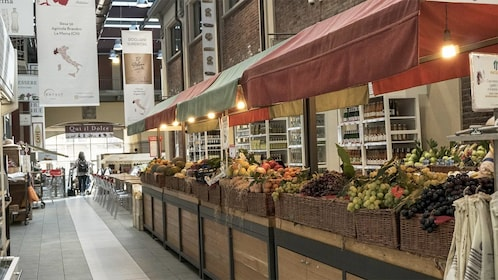 Market view on the Eataly & Lingotto Guided Tasting Tour