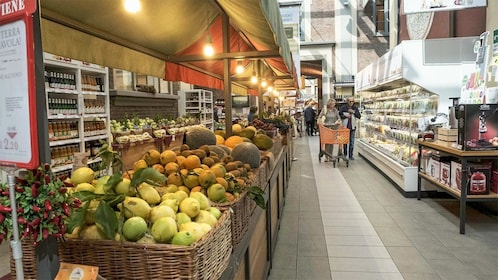 Fruit and produce on the Eataly & Lingotto Guided Tasting Tour