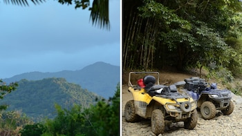 Self guided Nature Walk in El Yunque Forest &ATV Experience