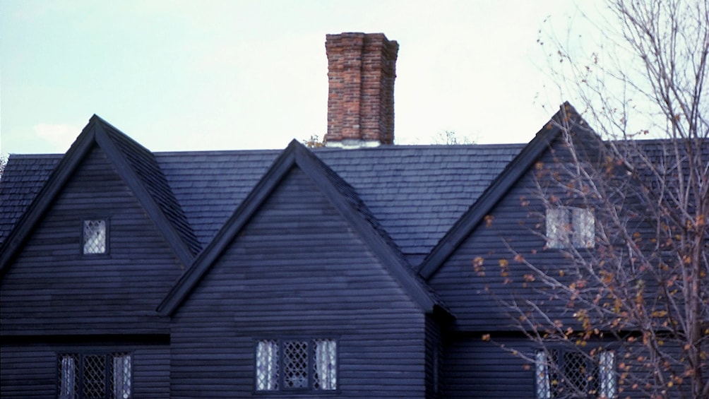 Show item 2 of 4. Roof Top of Witch House in Salem
