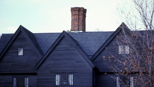 Roof Top of Witch House in Salem
