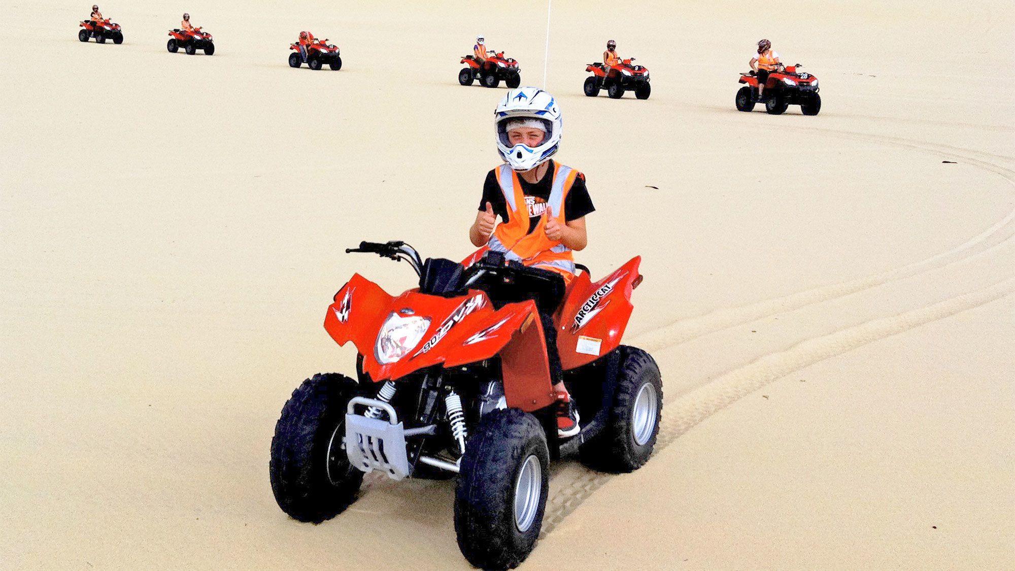 quad bike tour in New South Wales Regional, NSW, Australia