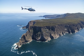 Helicopter Flight over the Tasman Peninsula
