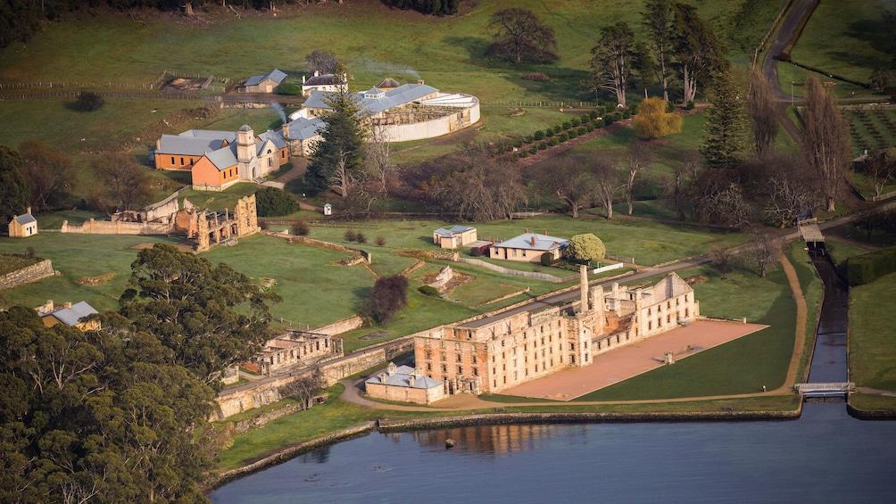 Show item 5 of 10. View of Port Arthur Historic site in Tasmania