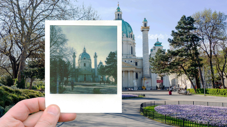 Classic Polaroid Photo Tour in Vienna