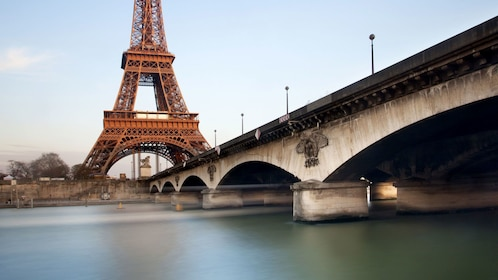 River Seine and the Eiffel Tower in Paris