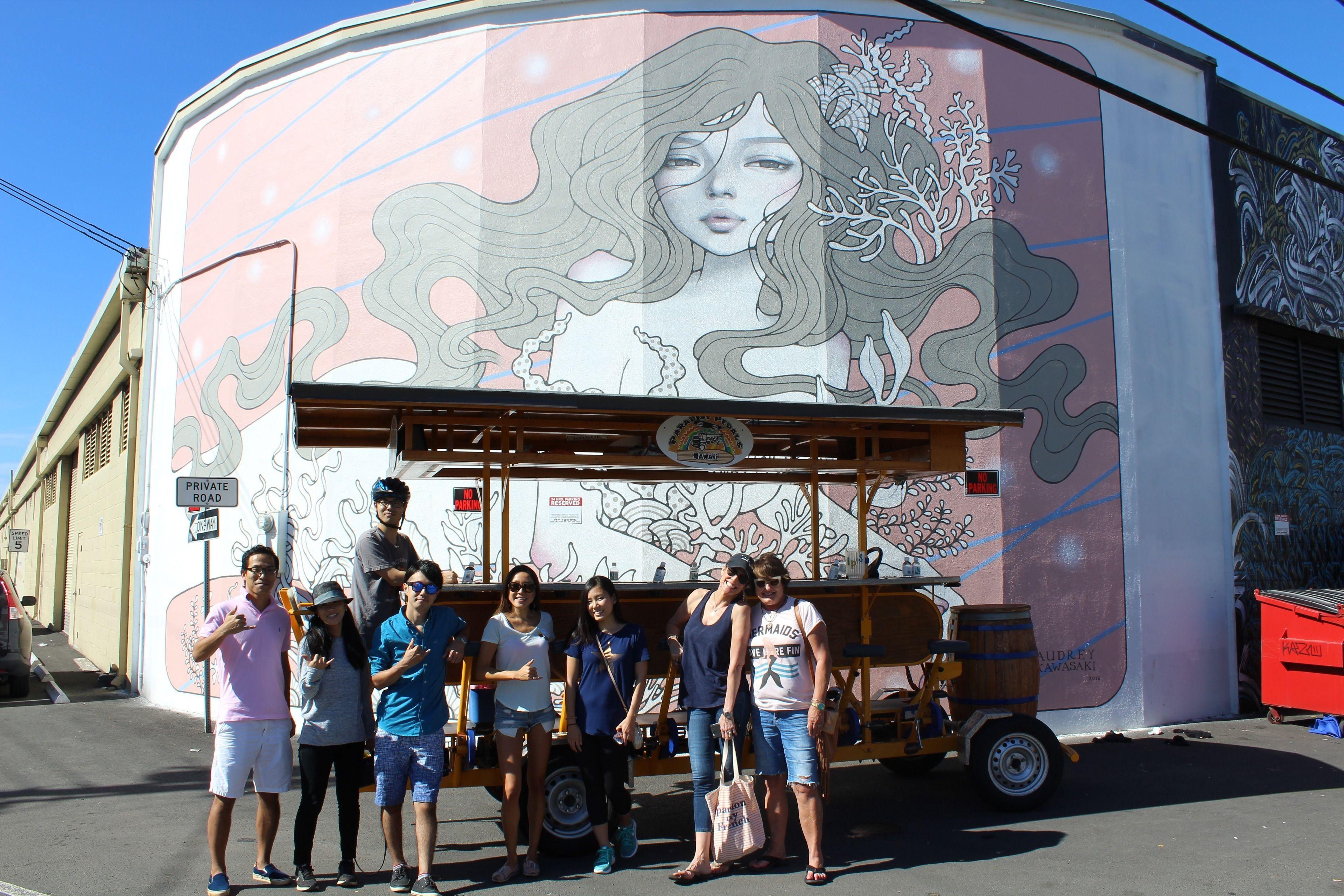 HNL Art Tour with Acia Bowl or Smoothie