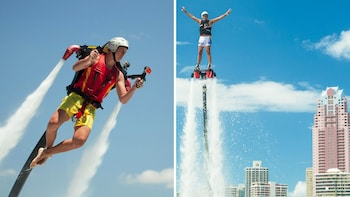 Perth Water Jetpack & Flyboard Combo Flight