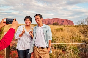 Guided Uluru Sacred Sights & Sunset Tour with Refreshments