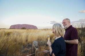 Uluru Sacred Sites & Sunset Tour with Refreshments