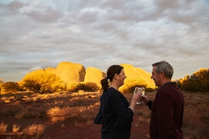 Guided Sunset Tour of Kata Tjuta Sacred Site with Drinks