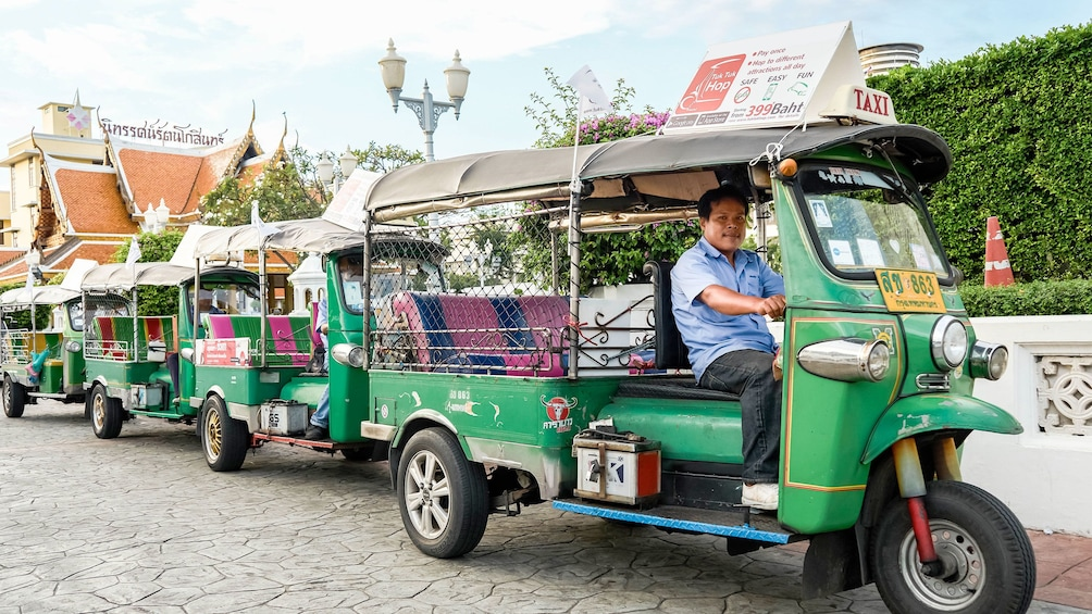 Show item 1 of 6. Tuk Tuk Hop On Hop Off in Bangkok
