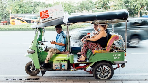 View of the Tuk Tuk Hop On Hop Off in Bangkok
