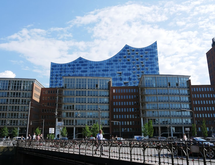 Show item 3 of 7. Guided Walking Tour of the Ellbphilharmonie