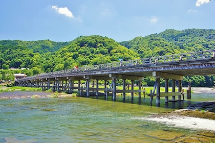 Full-Day Sightseeing Bus Tour to Arashiyama & Nara