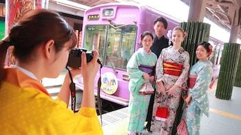 往嵐山及奈良的巴士觀光全日遊