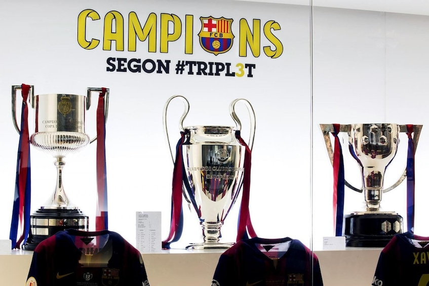 Camp Nou Tour: F.C. Barcelona Open Date Ticket (Ticket Only)