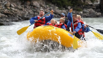 5-Mile Athabasca River Guided Whitewater Rafting Adventure